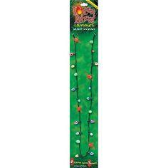 Lotsa Lites Christmas Holiday Flashing Light Bulbs Necklace (sold individually) Carol Wright Gifts