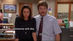 This perfectly describes their relationship #ParksandRec.