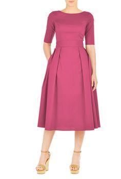 I <3 this Quincy dress from eShakti