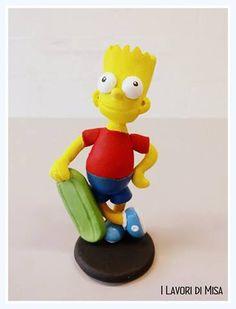 Bart Simpson, sculpey figure