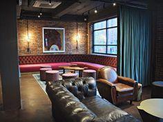 Nashville Underground's new $13M renovation is AWESOME. Nashville Bars, Interior Design Studio, Sofa, Projects, June, Furniture, Awesome, Home Decor, Nest Design