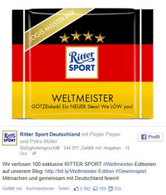 Ritter Sport Germany WM 2014