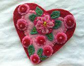 Items similar to Happy Heart Blue Rose on Etsy. , via Etsy.