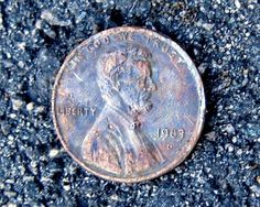 There's a 1983-d penny -- a rare copper penny that's worth $15,000! photo bygazeronly on Flickr.