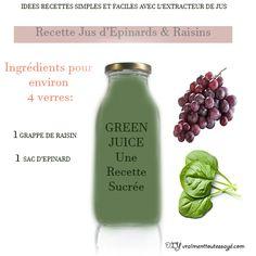 Healthy Detox, Juice, Cocktails, Cooking Recipes, Nutrition, Organic, Kitchenaid, Bottle, Food