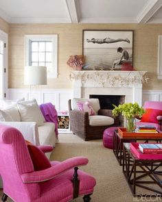 COLORFUL HAMPTONS HOME TOUR
