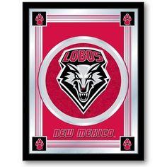 New Mexico Lobos Logo Mirror