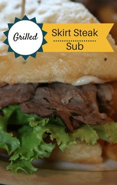 While competing against his wife in a cook-off, one Chew viewer shared a recipe for a Grilled Skirt Steak Sub he believed would be tasty enough to take home the prize.