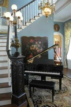 This antique newel post from Southern Accents Architectural Antiques now graces the home of Tanya McMaster.