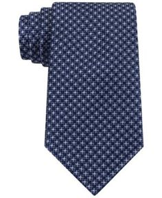 Tommy Hilfiger Micro Neat Tie - Blue
