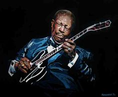 Modern Blues Vol. You Don't Know Jack, Nobody Loves Me, King Painting, Bb King, Kiss Of Death, King Art, Blues Artists, Artists For Kids, Music Artwork