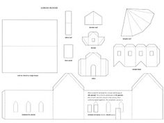 723 Best Printable Houses Images Paper Houses Christmas Villages