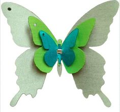 3D butterfly wall sticker by ioldsheep, more on www.creativecreation.pro