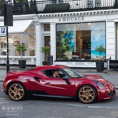 Alfa Romeo 4C | Photo by @adam_shah_ | #blacklist #alfaromeo #4c