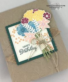 Stampin' Up! Beautiful Bouquet Birthday | Stamps – n - Lingers