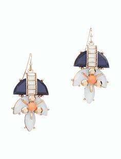 Mixed Split Bead Earrings - Talbots