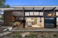 Award winning Small homes Australia Baahouse / Granny flats / Tiny House / Small houses / Brisbane / Australia wide Modern Small House Design, Tiny House Design, Cabin Design, Cottage Design, Australia House, Brisbane Australia, Tiny Homes Australia, Little Houses, Small Houses