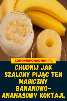 Pineapple and banana, 2 ingredients to help you remove excess fat Best Slow Cooker, Slow Cooker Recipes, Keto Recipes, Smoothie Detox, Smoothies, Herbal Remedies, Natural Remedies, Natural Herbs, 2 Ingredients