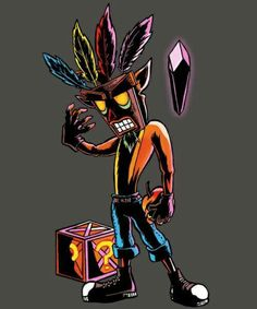 Crash bandicoot burbuga. #zongeek