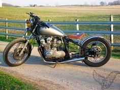 phil's 1981 honda cb750 bobber
