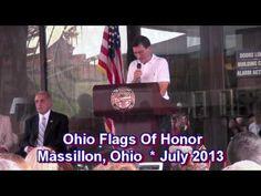 OHIO FLAGS OF HONOR * MASSILLON, OHIO * JULY 2013