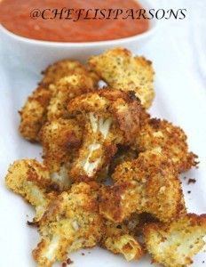 "oven ""fried"" cauliflower"