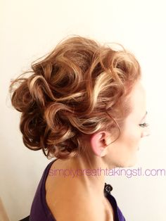 Mother of the Bride Updo By Jennifer  simplybreathtakingstl.com