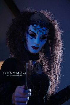 Steampunk Gothic Masquerade mask and steampunk by TahliasMasks