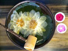 Lotus Tea ceremony at Handol Tearoom Lotus Tea, Tea Culture, Magic Recipe, Flower Tea, Tea Art, Chinese Tea, Food Platters, My Cup Of Tea, How To Make Tea