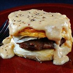 Southern Biscuits and Gravy on BigOven: Wonderful original old fashioned recipe
