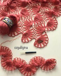 ozgulilgina'in Resmi: Günaydın Ben ikinci şalıma başladım. Anneler günü için hazırlıyorum. Anneler için olunca daha bi k