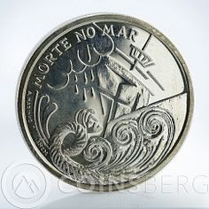 Portugal, Brasil, Republica Portuguesa, 200 ESC, Morte No Mar, 1999
