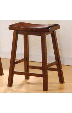Wooden Bar Stool (Set of 2)