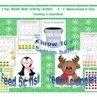 3 Winter Math Activity Centers  Pre K - 2 Common Core- Measurement  Data, Counting,  Operations -CCMD  What would your kiddos like more t...