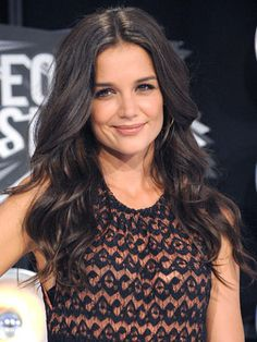 Katie Holmes - Makes me want to grow my hair! Love it!
