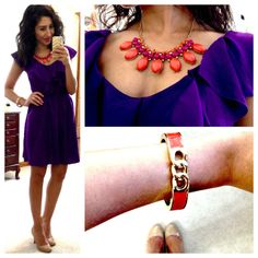 Necklace from JCP? I should check it out to go with my similar dress