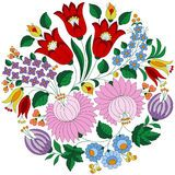 Hungarian Embroidery Folk Pattern From Kalocsa Region - Download From Over 54 Million High Quality Stock Photos, Images, Vectors. Sign up for FREE today. Image: 76296677