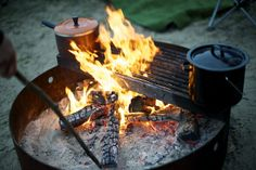 Camping cooking David Reamer photography