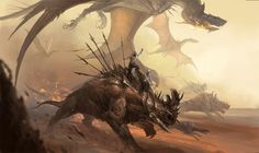 War Beasts by sandara mad max fury road riding mount monster beast creature animal | Create your own roleplaying game material w/ RPG Bard: www.rpgbard.com | Writing inspiration for Dungeons and Dragons DND D&D Pathfinder PFRPG Warhammer 40k Star Wars Shadowrun Call of Cthulhu Lord of the Rings LoTR + d20 fantasy science fiction scifi horror design | Not Trusty Sword art: click artwork for source