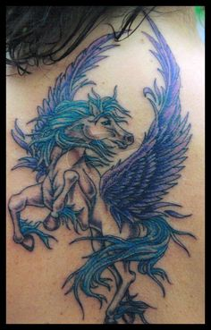 Pegasus tattoo by hellcatmolly.deviantart.com on @deviantART