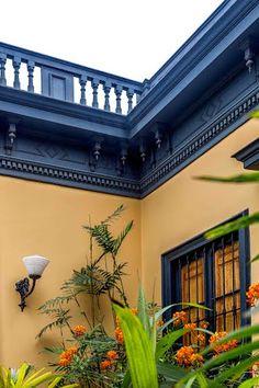 Barranco casa antigua detalle