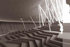"""The 2008 International Conceptual Design Competition for 5.12 Sichuan Earthquake Memorial Landscape, """"Track"""" Designers: Wei Jiang, Jiong Yan, Zhaobo Liang, Lijun Lin"""