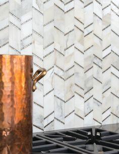akdo tile Contemporary Kitchen Image Ideas New York Akdo Akdo Tiles Allure backsplash calacatta captivate kitchen backsplash luxury marble metallic Mosaics natural stone slabs white white kitchen white marble