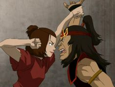 Avatar: The Last Airbender cosplayer combats evil with fierce Suki take Avatar Airbender, Avatar Aang, Suki Avatar, Team Avatar, The Last Airbender Characters, Avatar Characters, Suki And Sokka, Kyoshi Warrior, Water Tribe