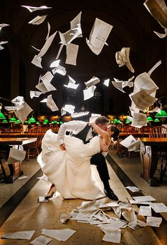 Or go fantastically over the top: | 31 Beautiful Ideas For A Book-Inspired Wedding I could pin EVERYTHING from this article!