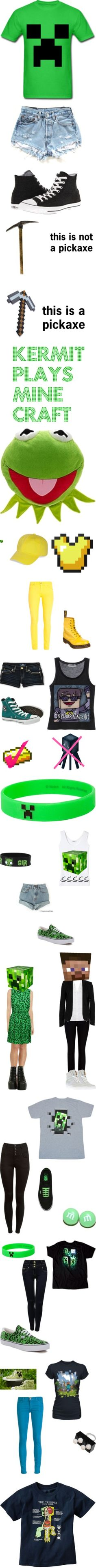 """minecraft33"" by skydoesminecraft ❤ liked on Polyvore"