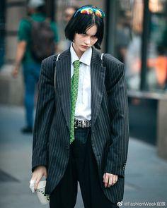 Harajuku Mode, Harajuku Fashion, Punk Fashion, Fashion Beauty, Fashion Outfits, Womens Fashion, Suits For Women, Women Wear, Facon