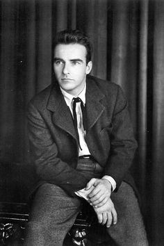 Hot Guys Newsletter No.30: Suit Saturdays - Montgomery Clift