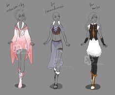 Custom Outfits #5 by Nahemii-san.deviantart.com on @DeviantArt