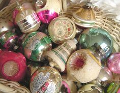 Vintage Pastel Ornaments by andrea singarella, via Flickr